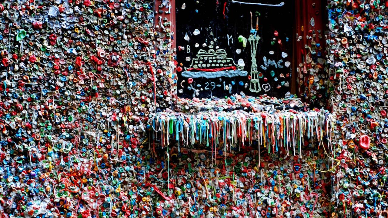 Image result for gum wall