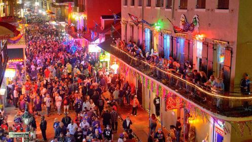Image result for bourbon street new orleans