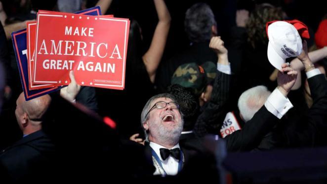 Image result for Trump wins key battlegrounds