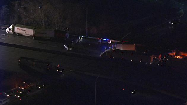 Crash shuts down WB Pennsylvania Turnpike past Bensalem