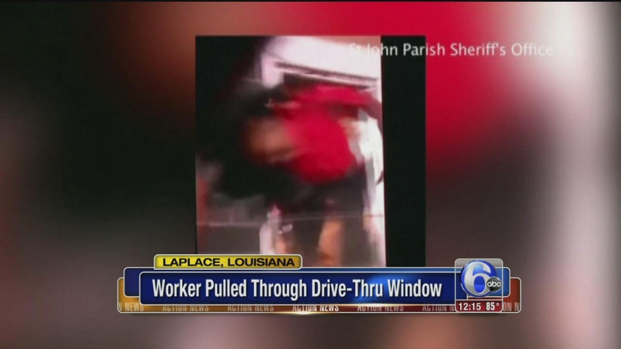 Drive Thru Window Worker