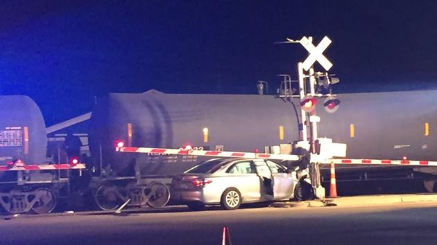 2 dead after train hits car in Morrisville