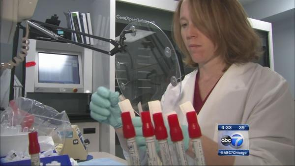 H1N1 flu strain in Chicago