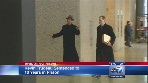 Kevin Trudeau gets 10 years in prison