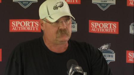 Eagles head coach Andy Reid