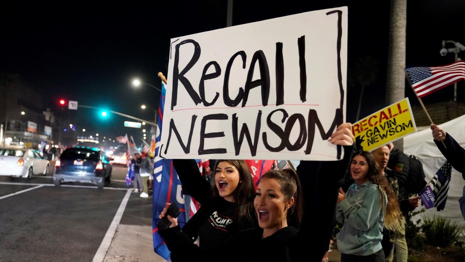 Newsom recall effort reaches nearly 2 million signatures 3/8/21