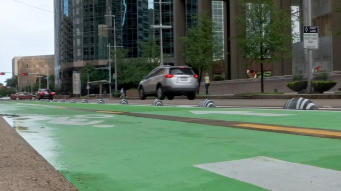 Don't feel like coughing up $100 for a parking ticket? Watch out for bike lanes!