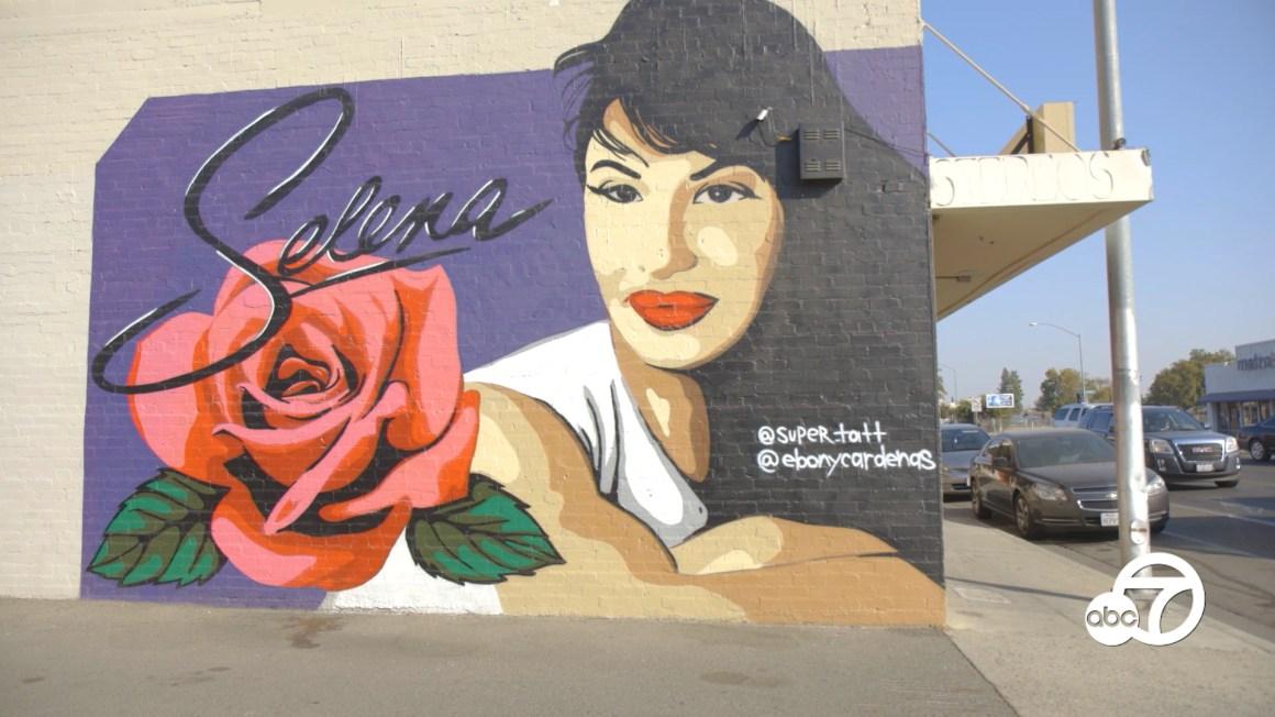 Remembering Selena: California muralists reflect on Selena's 'timeless' impact