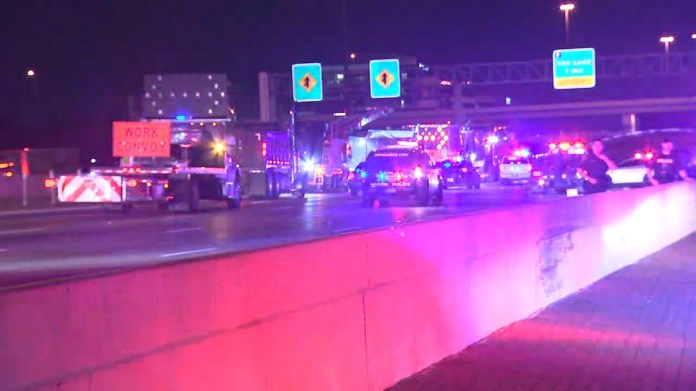 Off-duty officer injured after car crash involving work convoy, police said