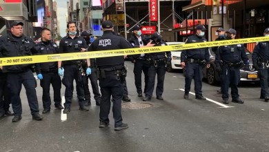 Portion of Times Square in New York shut down after 3 people, including 4-year-old girl shot