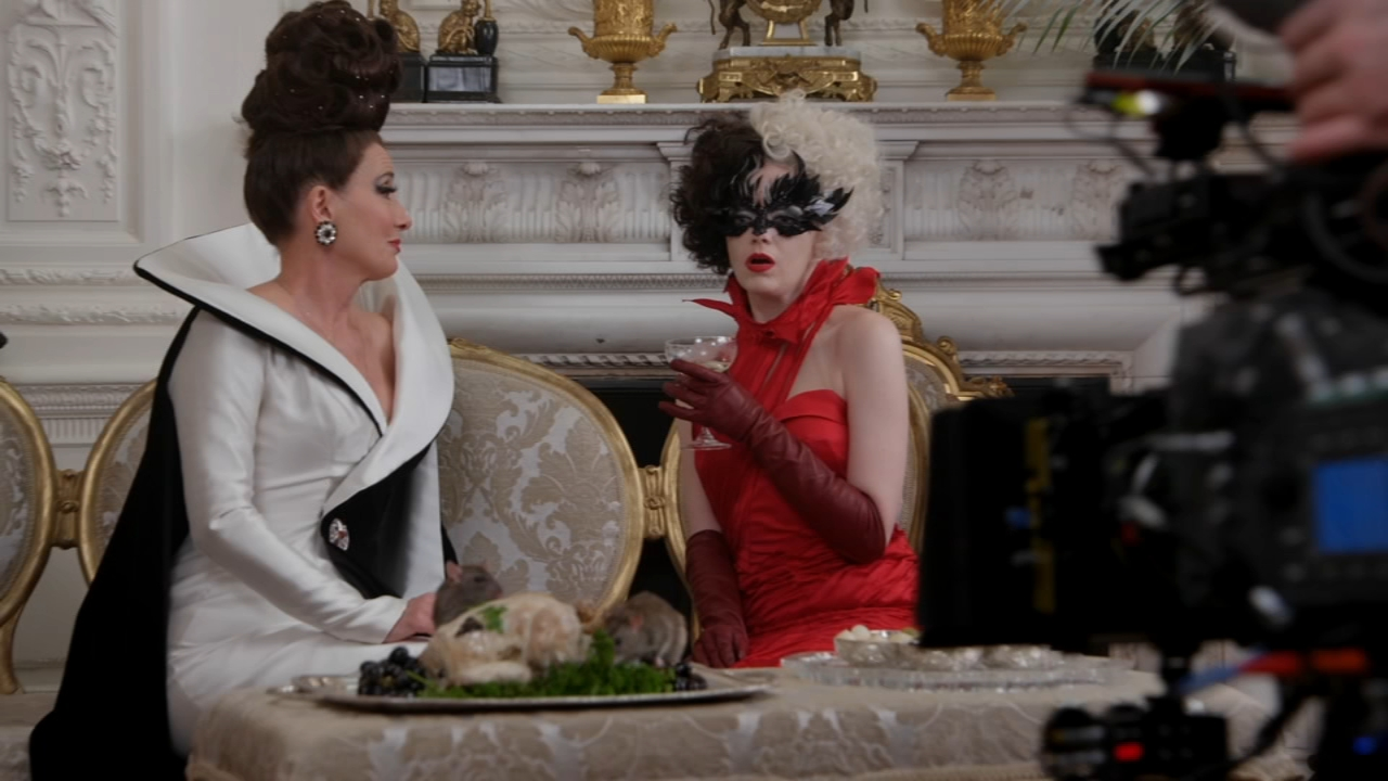Disney's Cruella: Two wicked femme fatales played by Emma Thompson, Emma Stone face off for power - ABC7 Chicago
