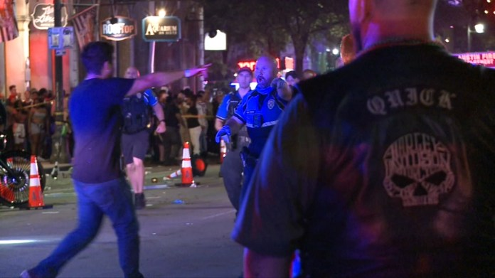 Mass shooting on Austin's 6th Street: 13 hurt, suspect at large