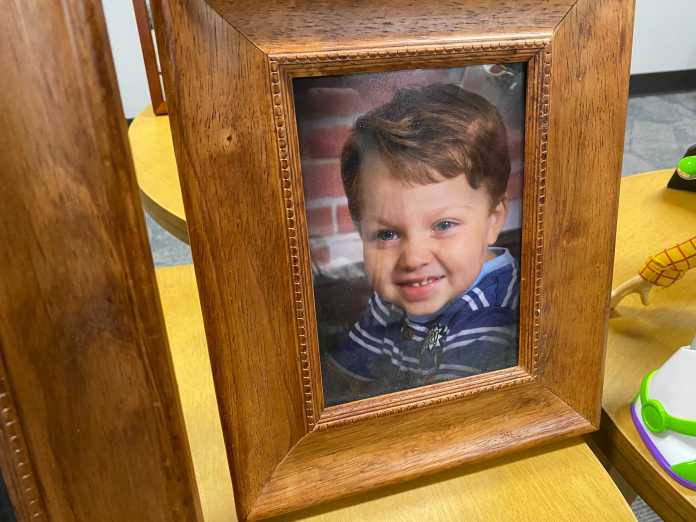 Samuel Olson's mother speaks for first time since 5-year-old boy was found dead