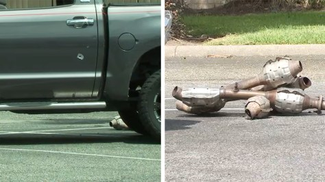 4 catalytic converter thieves shoot at 2 men chasing after them in W. Houston, HPD says