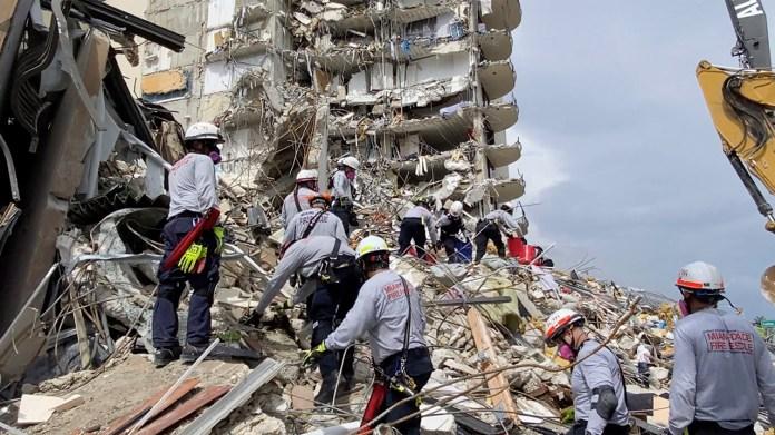 Death toll rises to 5 in Miami-area condo collapse; 156 people still unaccounted for