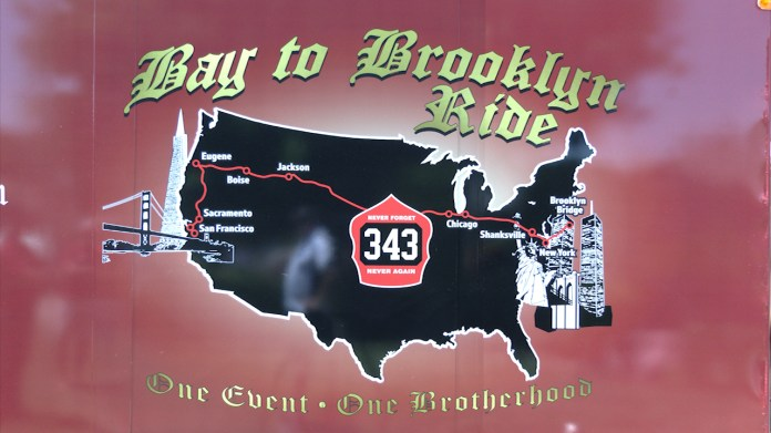 Bay Area firefighters prepare for bike ride to New York City to honor 9/11 victims