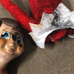 Charred Elf On The Shelf Goes Out In Blaze Of Glory In The Oven