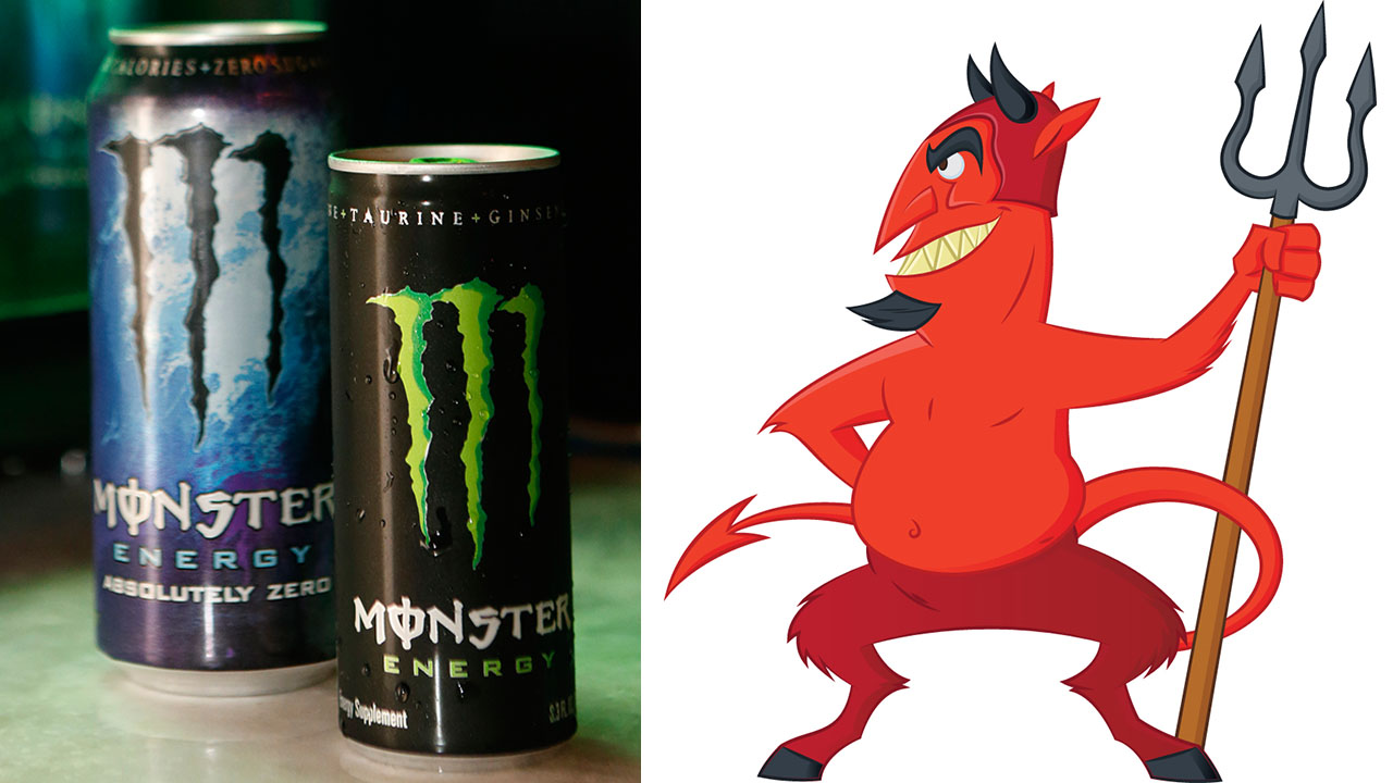 woman claims that monster energy drinks