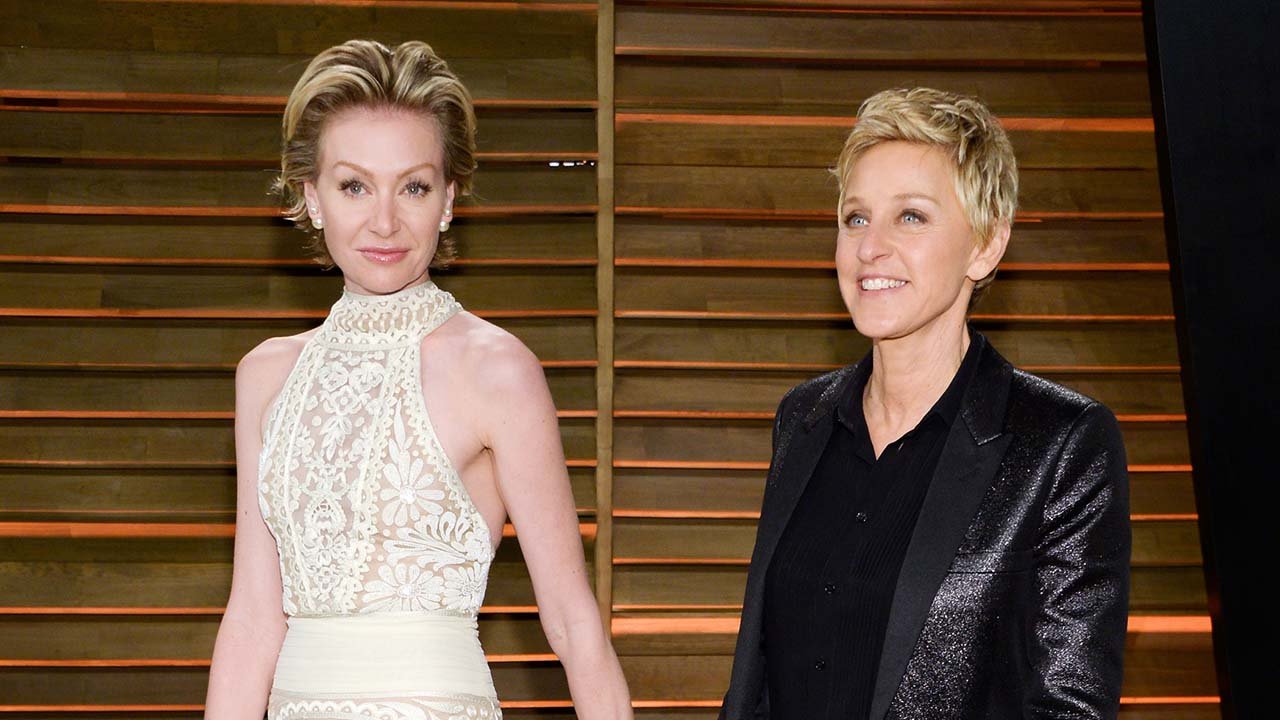 "Ellen DeGeneres And Portia De Rossi Try To ""break The"