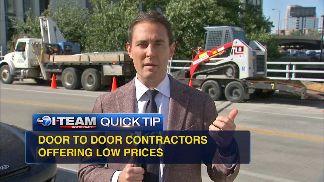 Quick Tip Home Improvement Scam Warning Abc7chicago Com