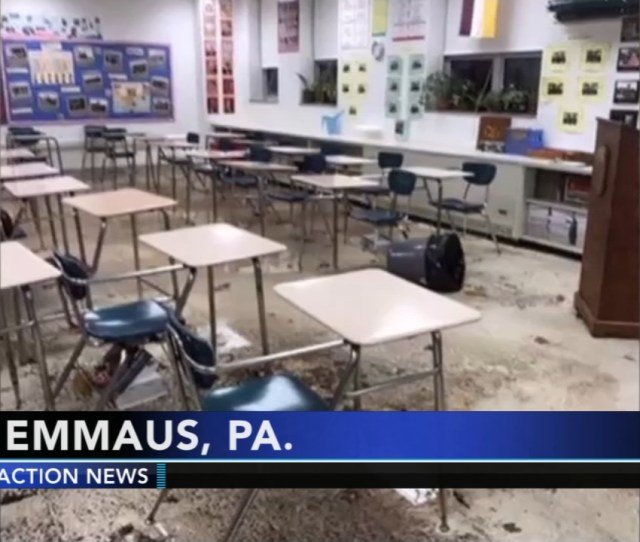Classes Canceled At Emmaus High School Due To Flooding Abc Com