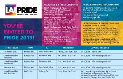 2019 LA Pride Parade June 09 West Hollywood CA - Los Angeles Pride