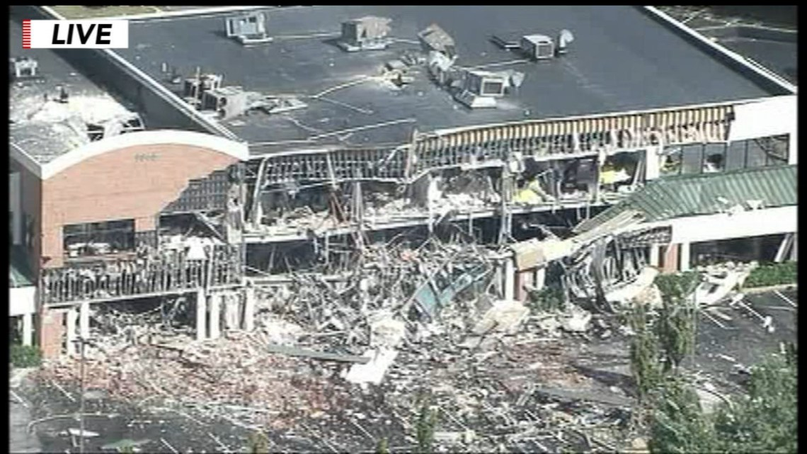 Image Result For Gas Explosion In Maryland Badly Damages Shopping Center