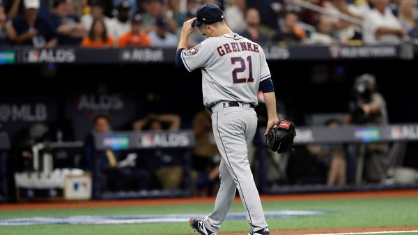 HAPPENING NOW: Astros trail late in ALDS Game 3 vs. Tampa Bay