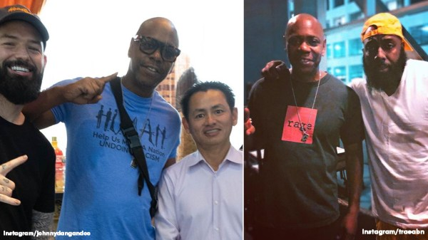 Dave Chappelle hangs out with Johnny Dang, Paul Wall, Trae Tha Truth during surprise Houston stop