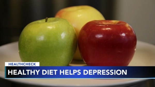 Healthy diet can help teenagers with depression