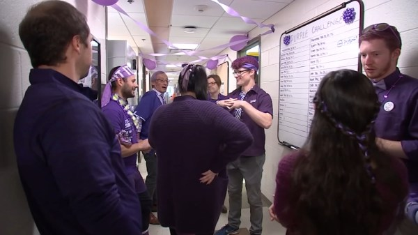 UNC doctors don purple for World Pancreatic Cancer Day, speak on new research