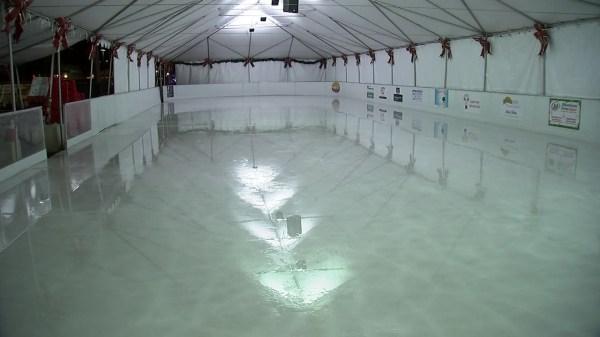 East Bay ice rink melting away after overnight vandalism