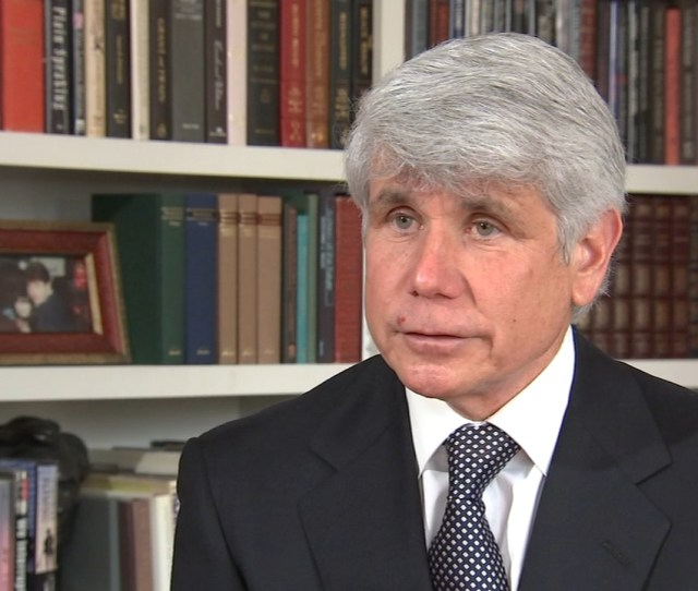 Rod Blagojevich Law License State Panel Ardc Recommends Former