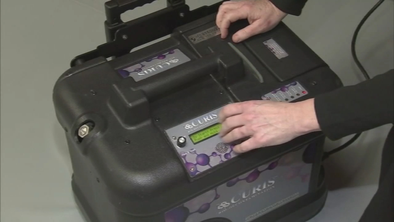 Machine Being Used To Sanitize N95 Masks Surfaces In Hospitals 6abc Philadelphia