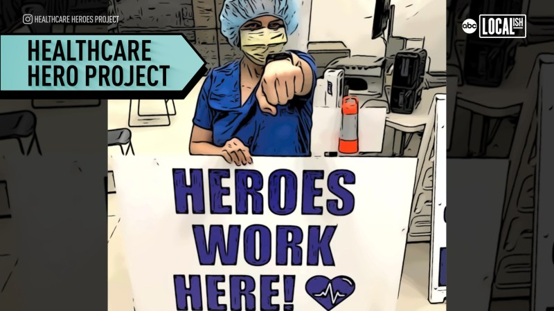 Thank You Coronavirus Helpers Healthcare Superheroes From Around The World Share Their Covid 19 Stories Abc7 New York
