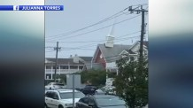 Tropical Storm Isaias Knocks Steeple Off Historic Chapel in New Jersey