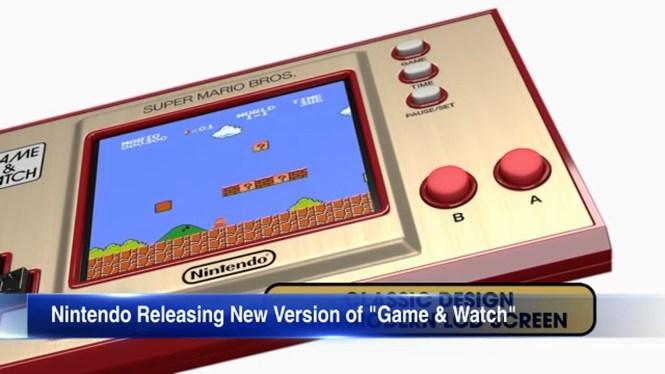 Watch A Super Retro Handheld