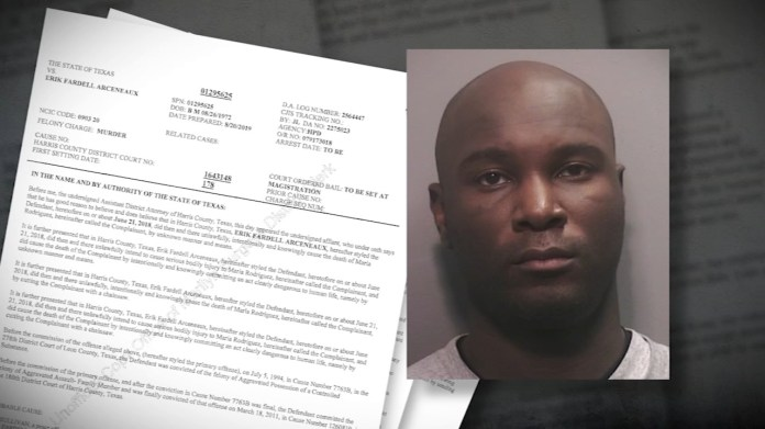 Houston man accused of dismembering woman with chainsaw still on the run