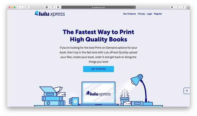 Homepage di Lulu xPress