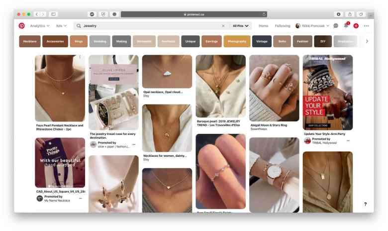 Idee di prodotti di gioielleria da vendere online