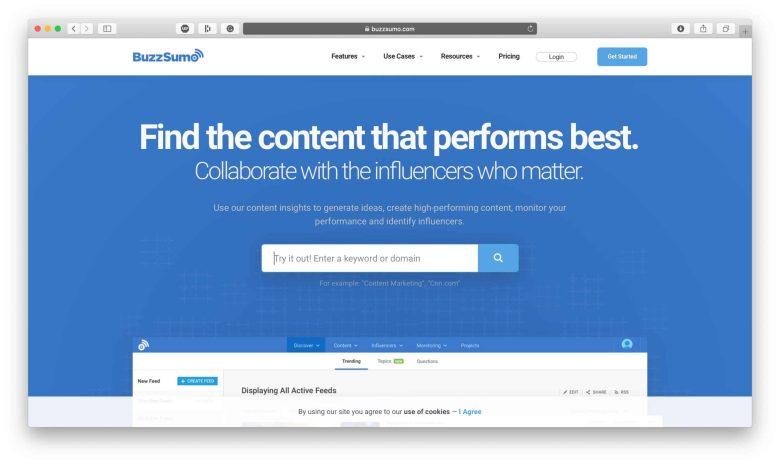 BuzzSumo Influencer Collaborations