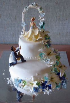 The Most Beautiful Wedding Cakes  35 pics