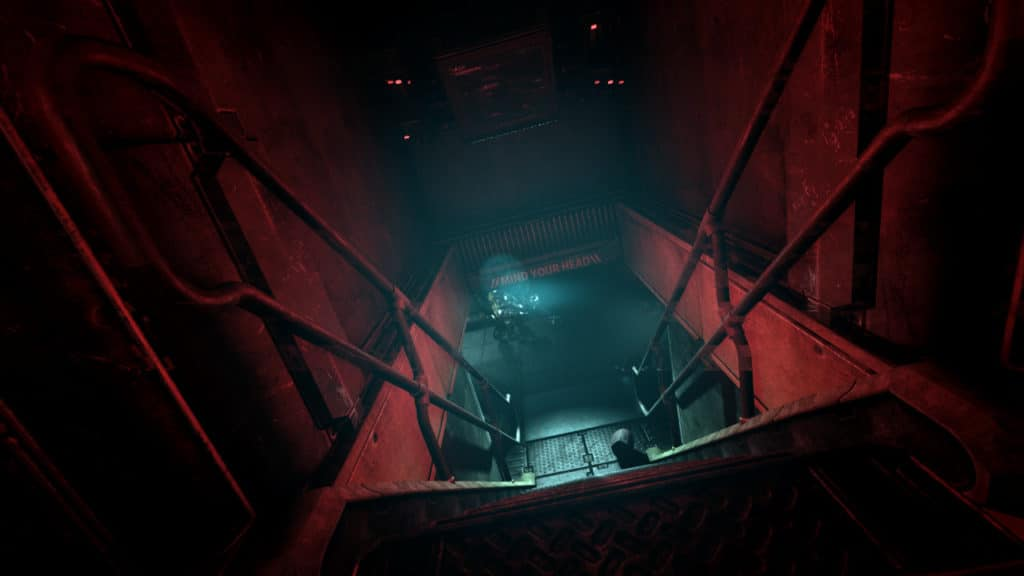 "The hallways are never safe in ""Soma"" (Image Credit: Frictional Games / Soma)"