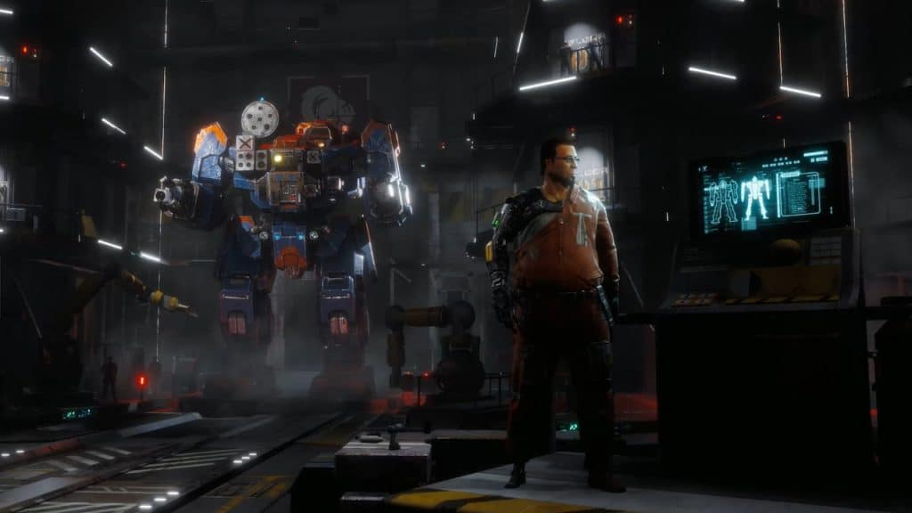 A screenshot of BattleTech Mechbay.