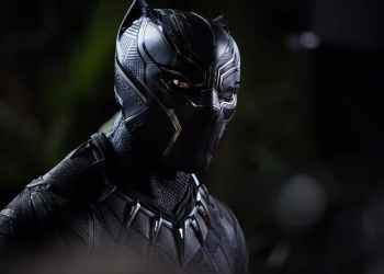 An image featuring the titular Black Panther.