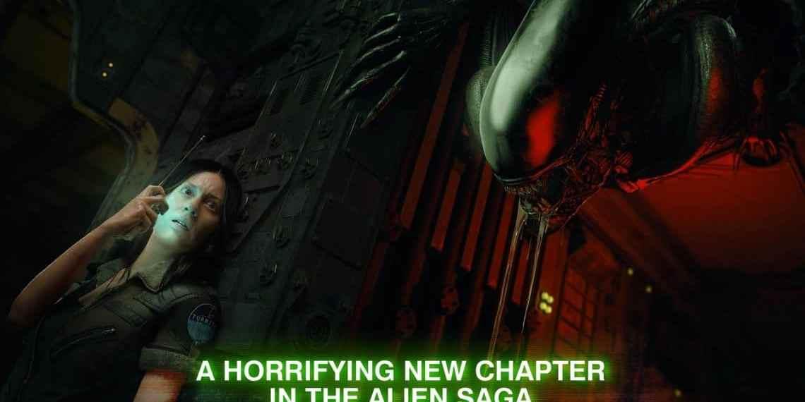 An image of Amanda Ripley and Xeonomorph in Alien Blackout.