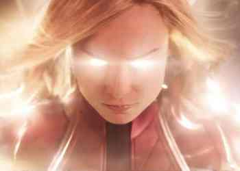 An image of Brie Larson as Captain Marvel