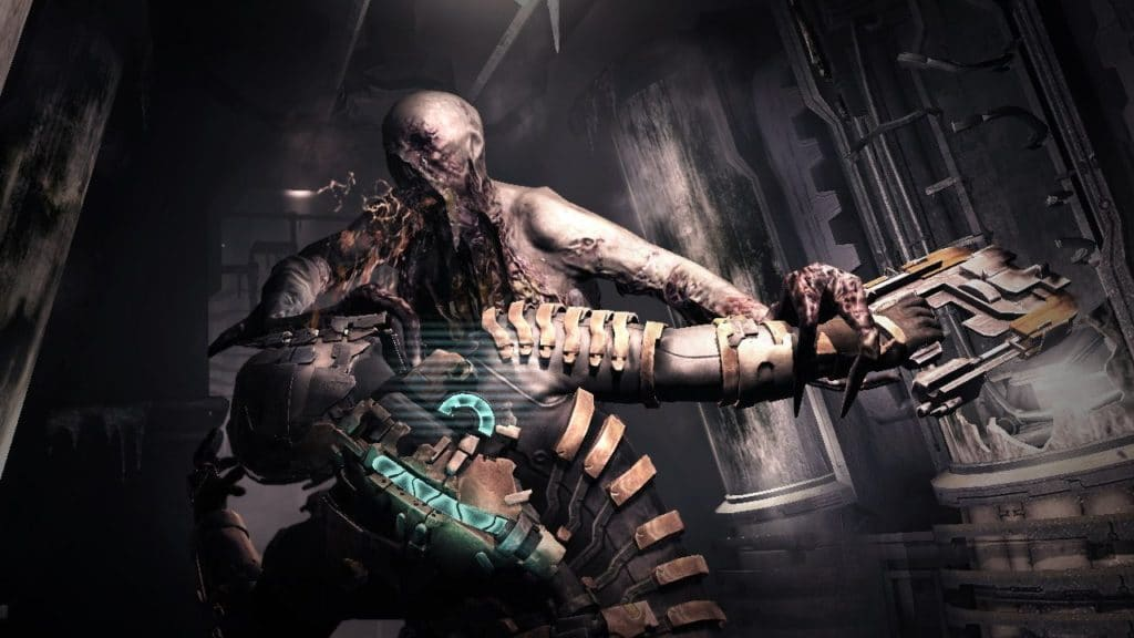 Dead Space Necromorph Attack (Image Credit: Visceral Games / Electronic Arts)