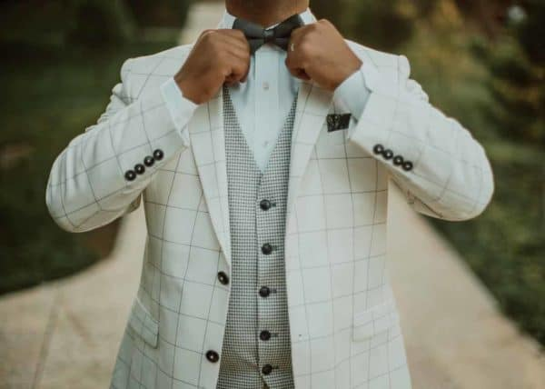 Bespoke suits are one of a kind and are created specifically just for your measurements