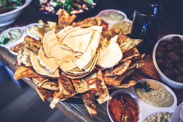 Tacos are rich in fiber.